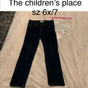 🤪4/$15🤪A2137 THE CHILDRENS PLACE 6x 7 blue Jean